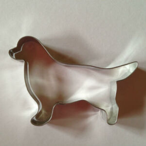 Juhászkutya állatos sütikiszúró forma 9,5 cm